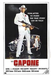 Capone, o Gângster - Poster / Capa / Cartaz - Oficial 4