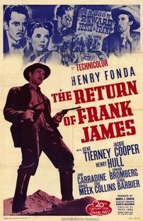 O Retorno de Frank James - Poster / Capa / Cartaz - Oficial 4