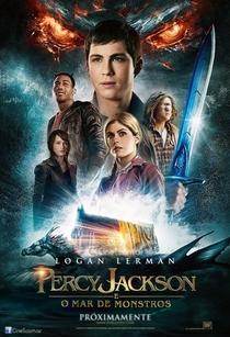 Percy Jackson e o Mar de Monstros - Poster / Capa / Cartaz - Oficial 1