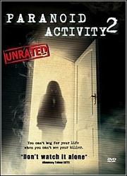 Paranoid Activity 2 - Poster / Capa / Cartaz - Oficial 1