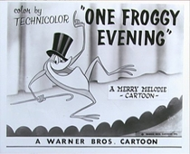 One Froggy Evening - Poster / Capa / Cartaz - Oficial 1