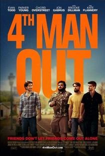 Fourth Man Out - Poster / Capa / Cartaz - Oficial 1