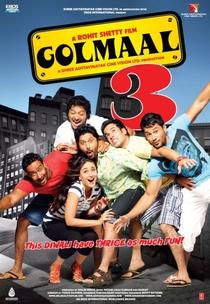 Golmaal 3 - Poster / Capa / Cartaz - Oficial 2