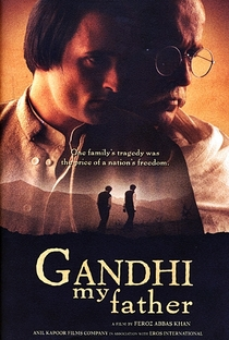 Gandhi, My Father - Poster / Capa / Cartaz - Oficial 3