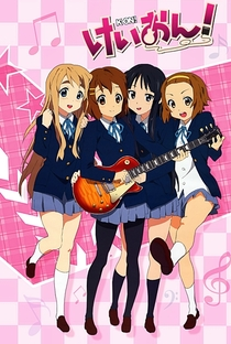 K-On! (1ª Temporada) - Poster / Capa / Cartaz - Oficial 19