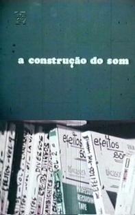 A Construção do Som - Poster / Capa / Cartaz - Oficial 1
