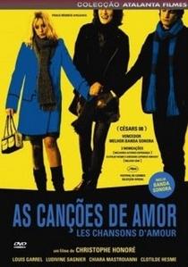 Canções de Amor - Poster / Capa / Cartaz - Oficial 4