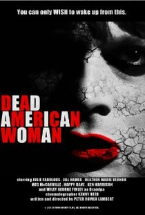 Dead American Woman - Poster / Capa / Cartaz - Oficial 1