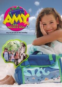 Amy, a Menina da Mochila Azul - Poster / Capa / Cartaz - Oficial 1