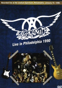 Aerosmith - Live In Philadelphia - Poster / Capa / Cartaz - Oficial 1