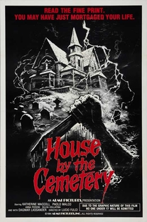 A Casa do Cemitério - Poster / Capa / Cartaz - Oficial 1