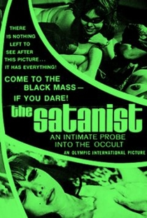The Satanist - Poster / Capa / Cartaz - Oficial 1