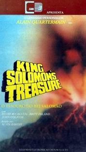 O Tesouro do Rei Salomão - Poster / Capa / Cartaz - Oficial 1