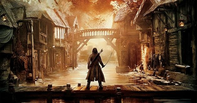 """O Hobbit: sai o pôster de """"A Batalha dos Cinco Exércitos"""" e ele é curiosamente familiar"""