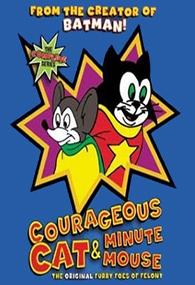 Gato Corajoso e Rato Minuto - Poster / Capa / Cartaz - Oficial 1