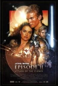 Star Wars: Episódio II - Ataque dos Clones - Poster / Capa / Cartaz - Oficial 3