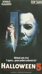 Halloween 5: A Vingança de Michael Myers - Poster / Capa / Cartaz - Oficial 3