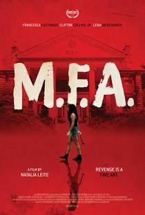 M.F.A - Poster / Capa / Cartaz - Oficial 3