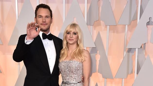 Anna Faris e Chris Pratt anunciam separação