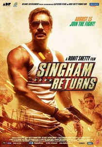 Singham Returns - Poster / Capa / Cartaz - Oficial 2