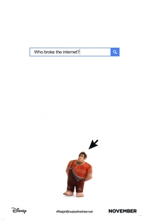 WiFi Ralph: Quebrando a Internet - Poster / Capa / Cartaz - Oficial 2