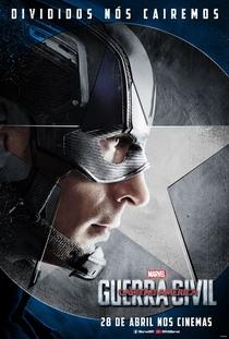 Capitão América: Guerra Civil - Poster / Capa / Cartaz - Oficial 25