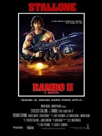 Rambo II - A Missão - Poster / Capa / Cartaz - Oficial 6
