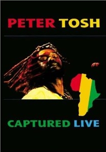 Peter Tosh - Captured Live - Poster / Capa / Cartaz - Oficial 1