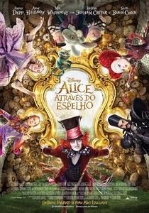 Alice Através do Espelho - Poster / Capa / Cartaz - Oficial 2