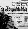 Não Me esqueça (Forget Me Not)