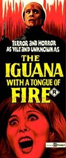 A Iguana da Língua de Fogo - Poster / Capa / Cartaz - Oficial 3