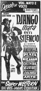 Django Mata em Silêncio - Poster / Capa / Cartaz - Oficial 5