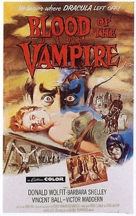 Blood of the Vampire - Poster / Capa / Cartaz - Oficial 1