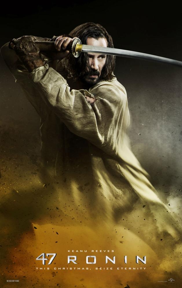 """Veja o trailer de """"Os 47 Ronins"""", estrelando Keanu Reeves"""