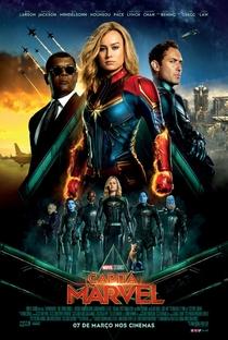 Capitã Marvel - Poster / Capa / Cartaz - Oficial 12