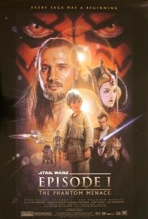 Star Wars: Episódio I - A Ameaça Fantasma - Poster / Capa / Cartaz - Oficial 1