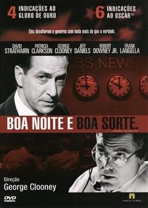 Boa Noite e Boa Sorte - Poster / Capa / Cartaz - Oficial 2