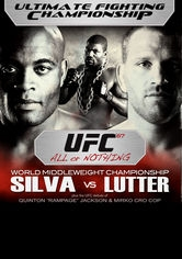 UFC 67: All or Nothing - Poster / Capa / Cartaz - Oficial 1