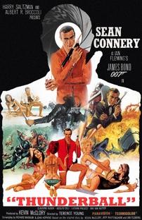 007 - Contra a Chantagem Atômica - Poster / Capa / Cartaz - Oficial 6