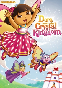 Dora salva o Reino de Cristal - Poster / Capa / Cartaz - Oficial 2