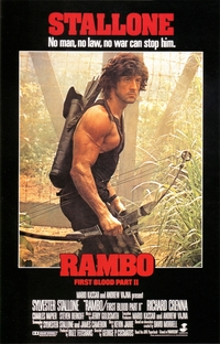 Rambo II - A Missão - Poster / Capa / Cartaz - Oficial 8
