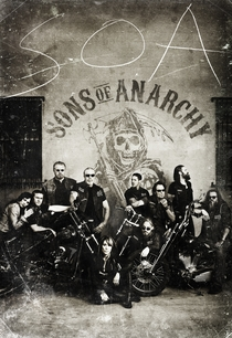 Sons of Anarchy (4ª Temporada) - Poster / Capa / Cartaz - Oficial 1