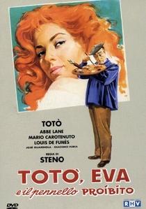 Totó, Eva e o Pincel Proibido - Poster / Capa / Cartaz - Oficial 1