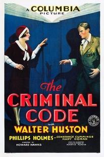 O Código Criminal - Poster / Capa / Cartaz - Oficial 3