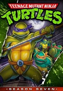 As Tartarugas Ninja (7ª Temporada) - Poster / Capa / Cartaz - Oficial 1