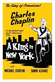 Um Rei em Nova York - Poster / Capa / Cartaz - Oficial 5