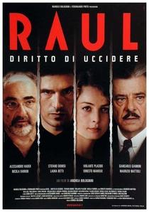 Raul - Diritto di uccidere  - Poster / Capa / Cartaz - Oficial 1