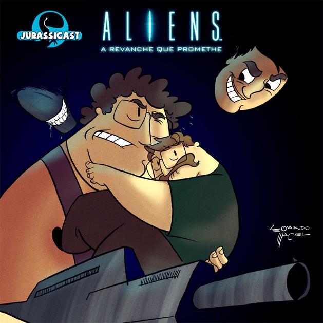 JurassiCast 30 - Aliens - A Revanche que Promethe