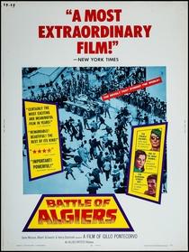 A Batalha de Argel - Poster / Capa / Cartaz - Oficial 3