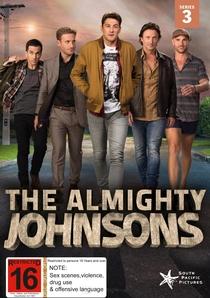 The Almighty Johnsons (3ª Temporada) - Poster / Capa / Cartaz - Oficial 1